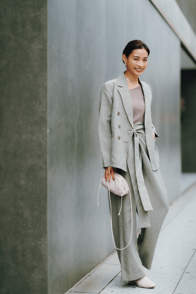 流行のジャケットスタイル、冬の