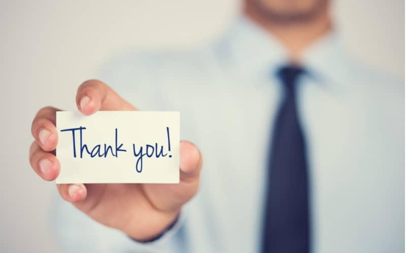 3.些細なことでも感謝の気持ちを忘れない