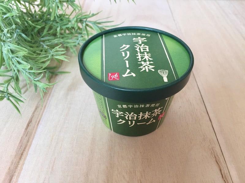 ■苦くない抹茶クリームで、ほっと一息