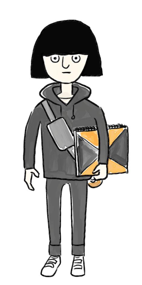 アラサーのあるあるNGコーデ図鑑❽「フーディ着たらADの人みたい」
