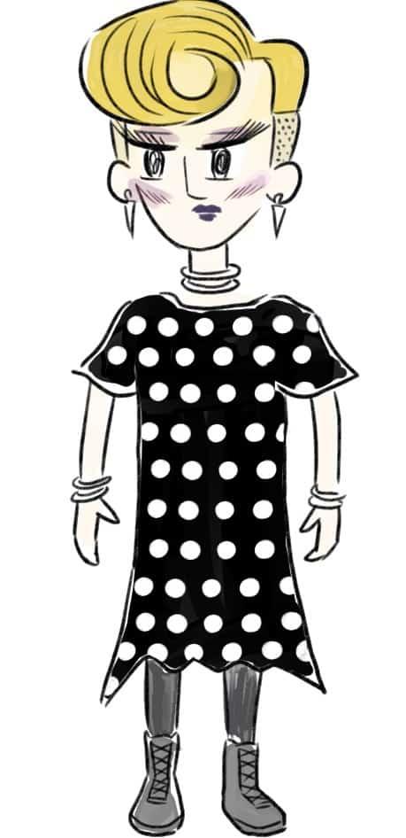 アラサーのあるあるNGコーデ図鑑➓「マーチン履いたらバンド好き女子」