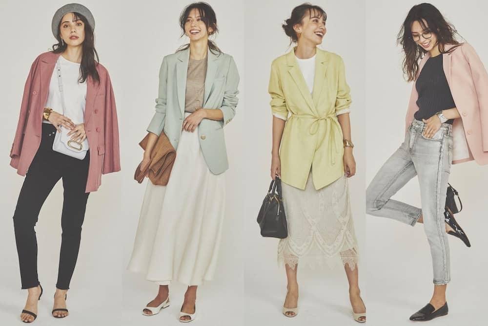 【春色集合】アラサー女子におすすめ「春色ジャケットブランド」4選