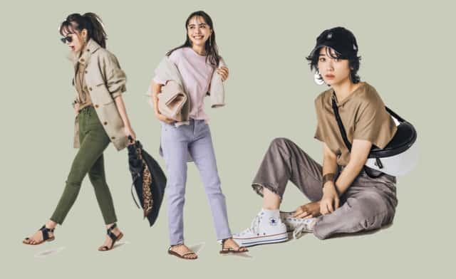 Tシャツ×デニムの「ニュアンスカラー」でダサ見え回避コーデ6選