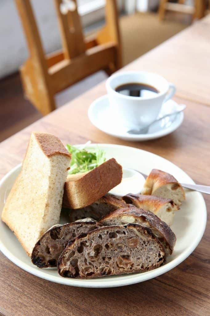 朝食にトースト、ランチにサンド