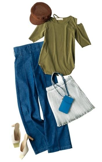 【人気ブランド】「Tシャツとデニム」に似合う憧れジュエリー