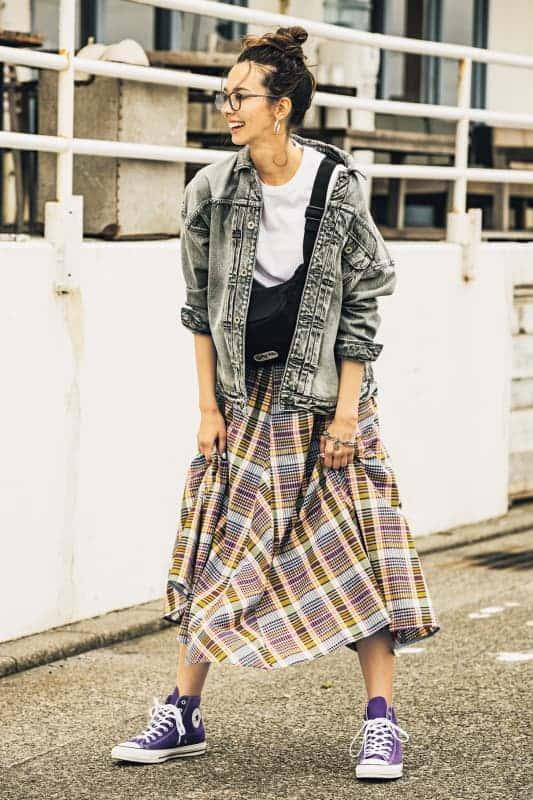チェック柄コーデ52選【2020春夏】チェックシャツやチェックスカートetc.おすすめの着こなし術