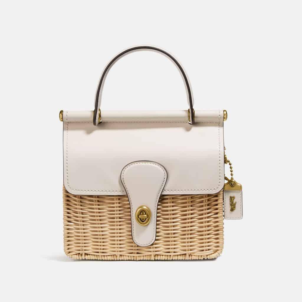 コーチの新作かごバッグは大人女子にぴったりの可愛さ♡【オンラインで先行発売】
