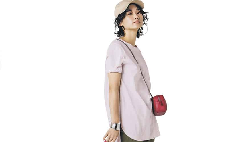 【今日の服装】子供っぽく見えない「ピンク」の着こなし方って?【アラサー女子】