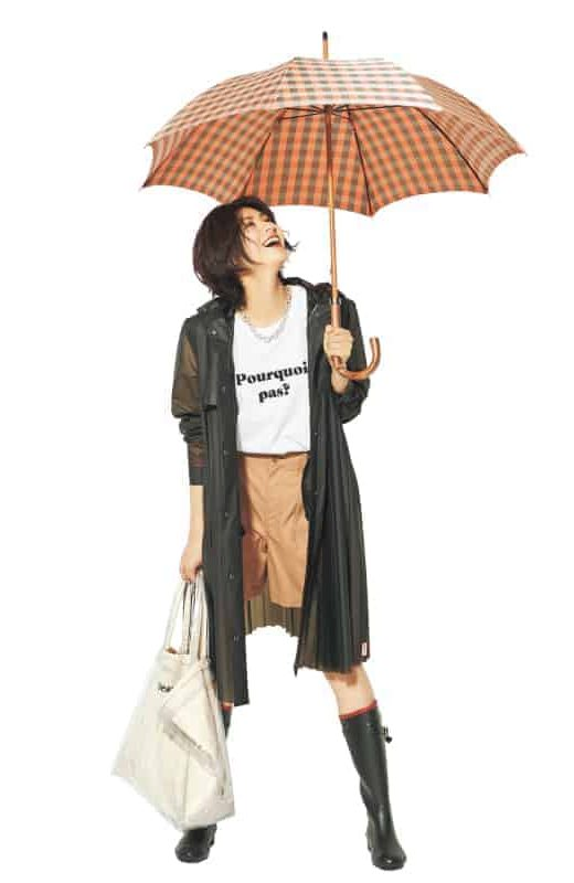 雨の日は、レインブーツと好相性