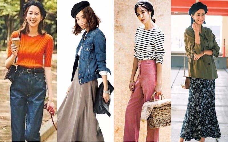 ベレー帽コーデ52選|大人の女性におすすめ春夏ファッション【2020年最新版】