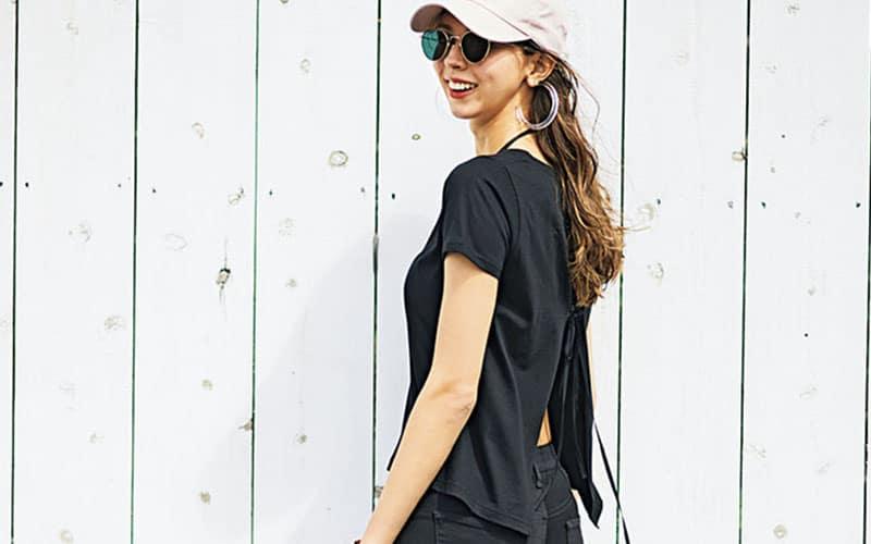【今日の服装】オールブラックの無地コーデを都会っぽく着こなすには?【アラサー女子】
