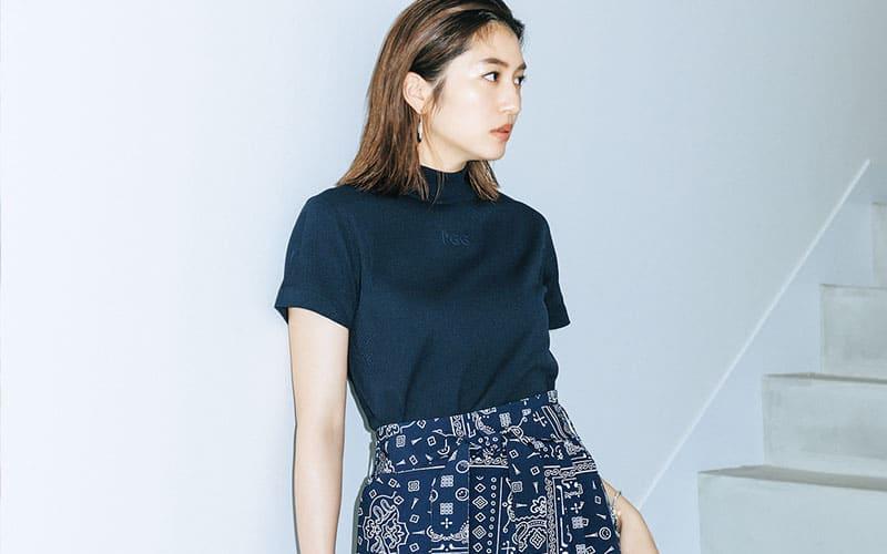 【今日の服装】大胆な柄スカートを大人っぽく着こなすには?【アラサー女子】
