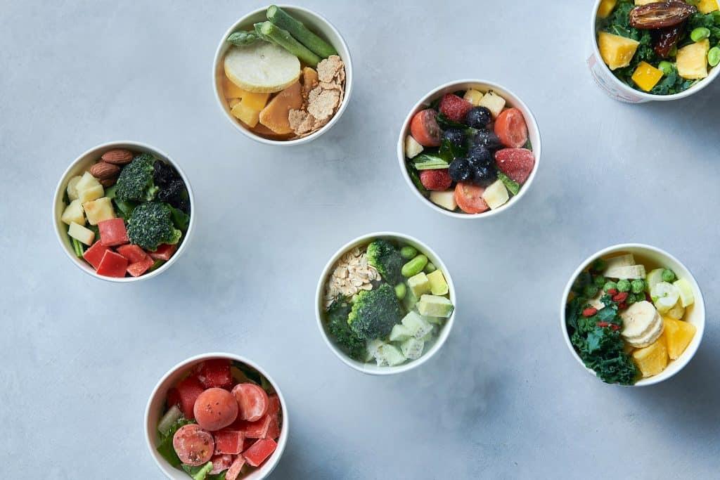 このような冷凍野菜&フルーツと