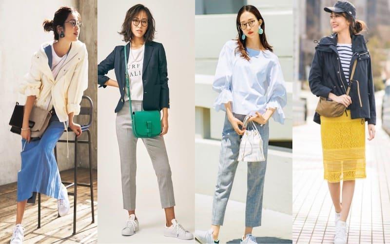 スタンスミスコーデ15選|大人女子はアディダスの人気白スニーカーをどう着こなすべき?