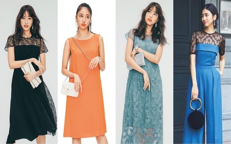 結婚式コーデ31選【2020春夏】アラサー世代のお呼ばれに《10色カラー別》