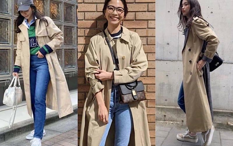 トレンチコートを合わせたパンツコーデ7選|アラサー女子の私服チェック
