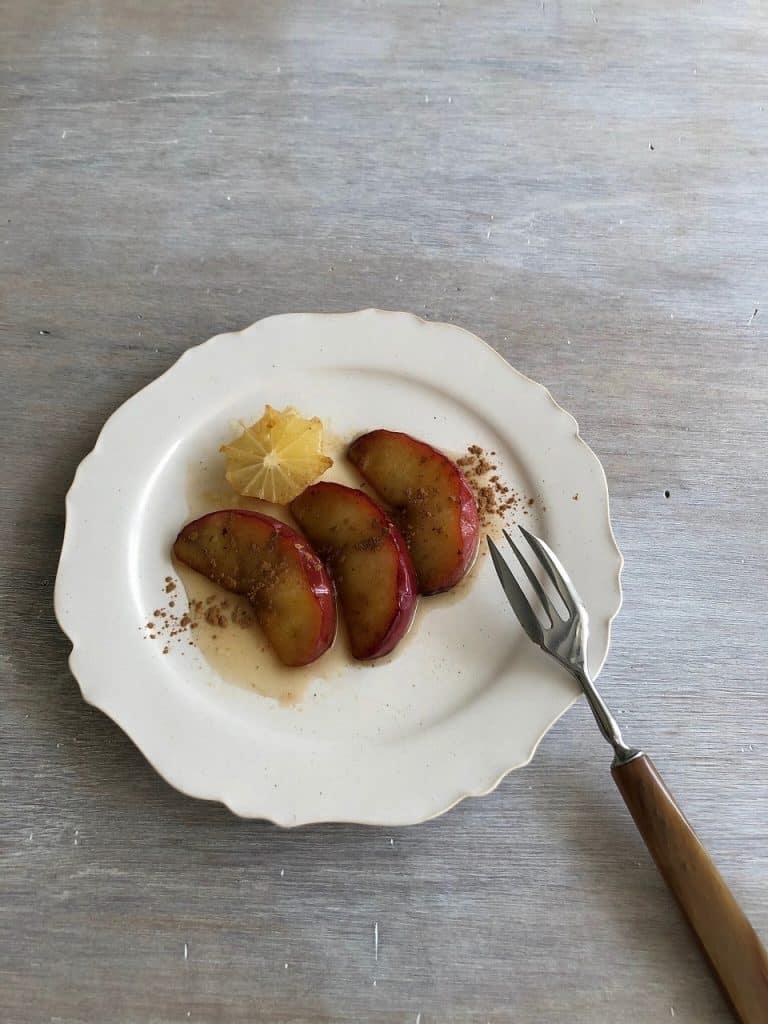 ★リンゴのソテー材料 りんご