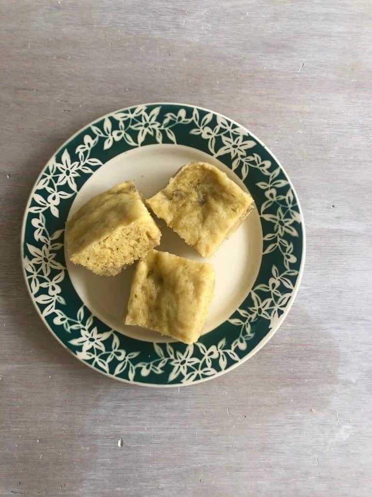★バナナ蒸しパンの材料(20×