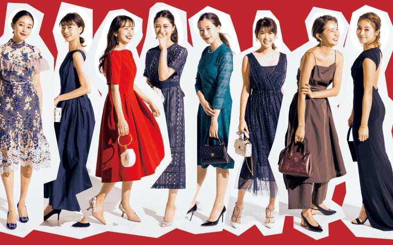 アラサー女子オシャレ読者のドレスアップコーデ8選「結婚式編」