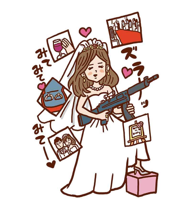 指輪選びやDIY作業など、結婚