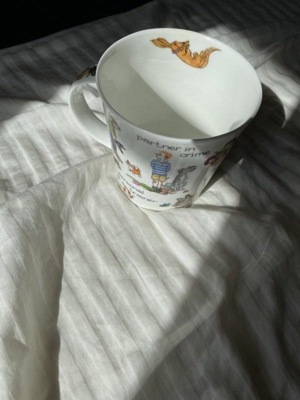 ▼8:00起床 起きたらすぐ洗