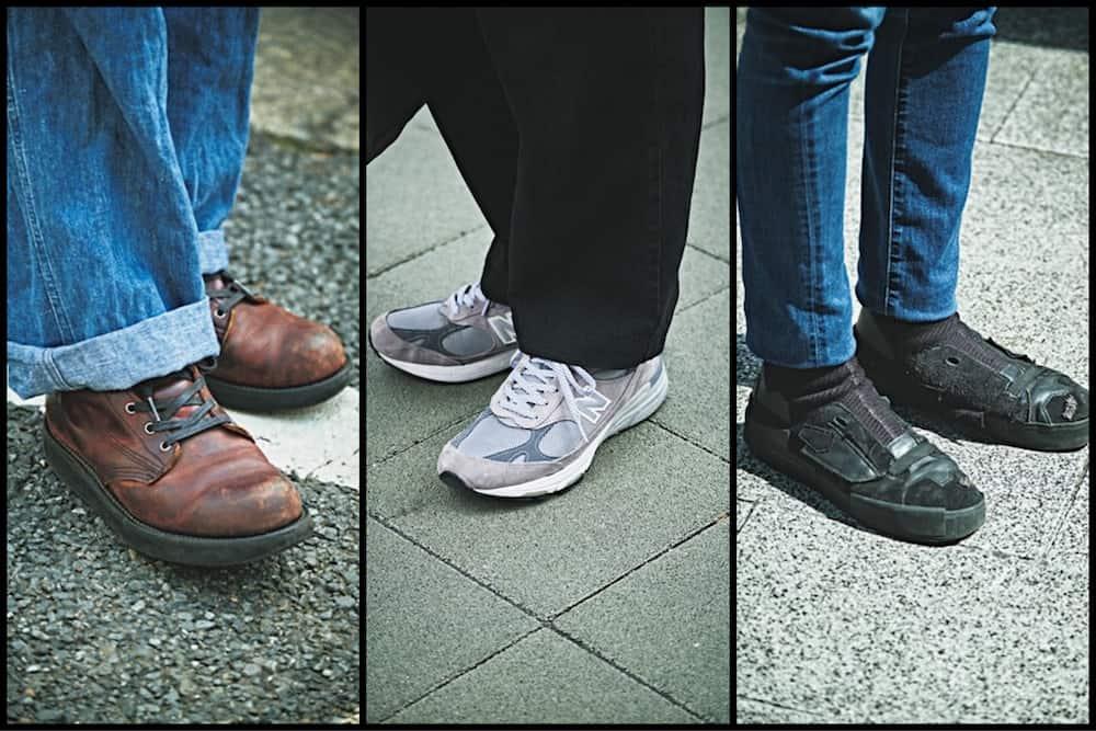 令和的イケメン「Tシャツ×デニム」SNAP【③靴好き男子編】