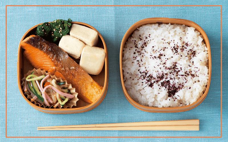 毎日お弁当レシピ「鮭の香味焼き弁当」【火曜日】|自炊ランチで健康に