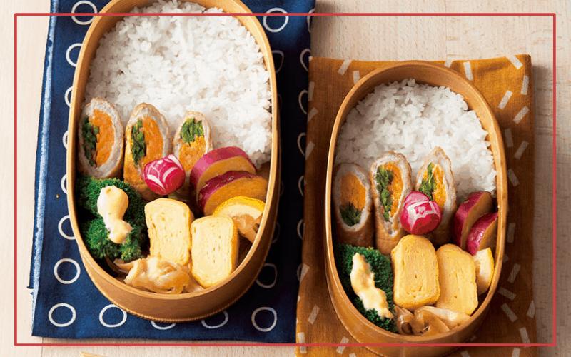 毎日お弁当レシピ「豚肉の野菜巻き弁当」【月曜日】|自炊ランチで健康に