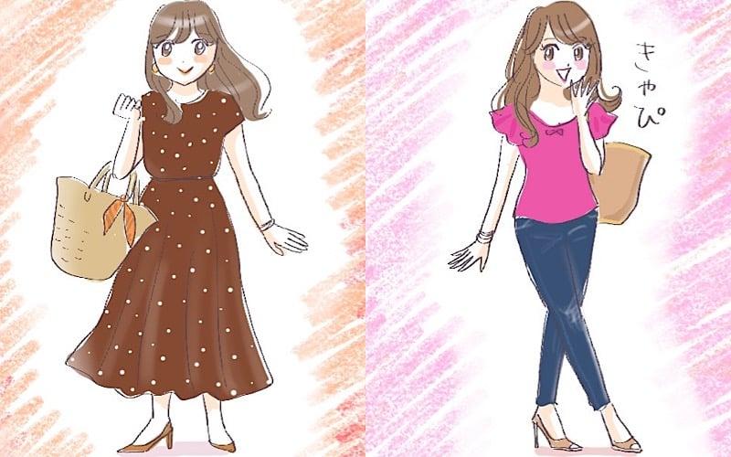 人気スタイリスト荒木里実さんに聞く、夏のダサ見えコーデ回避テク|ピンク、ドット、Tシャツ