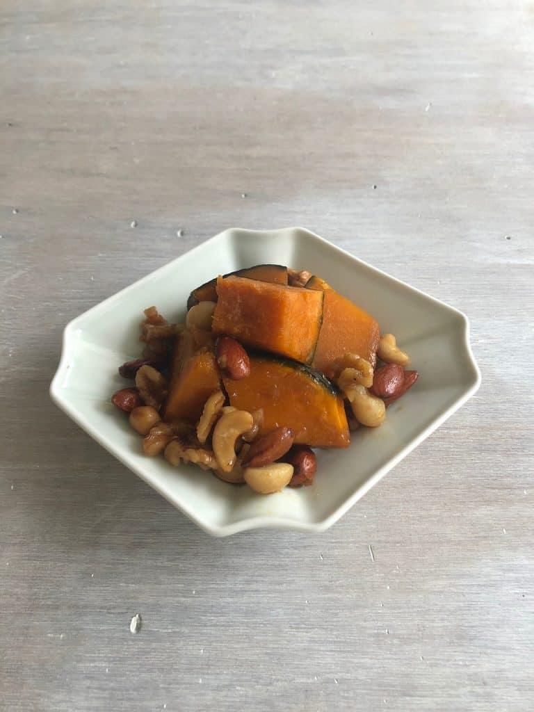 ★かぼちゃのメープルナッツ煮の