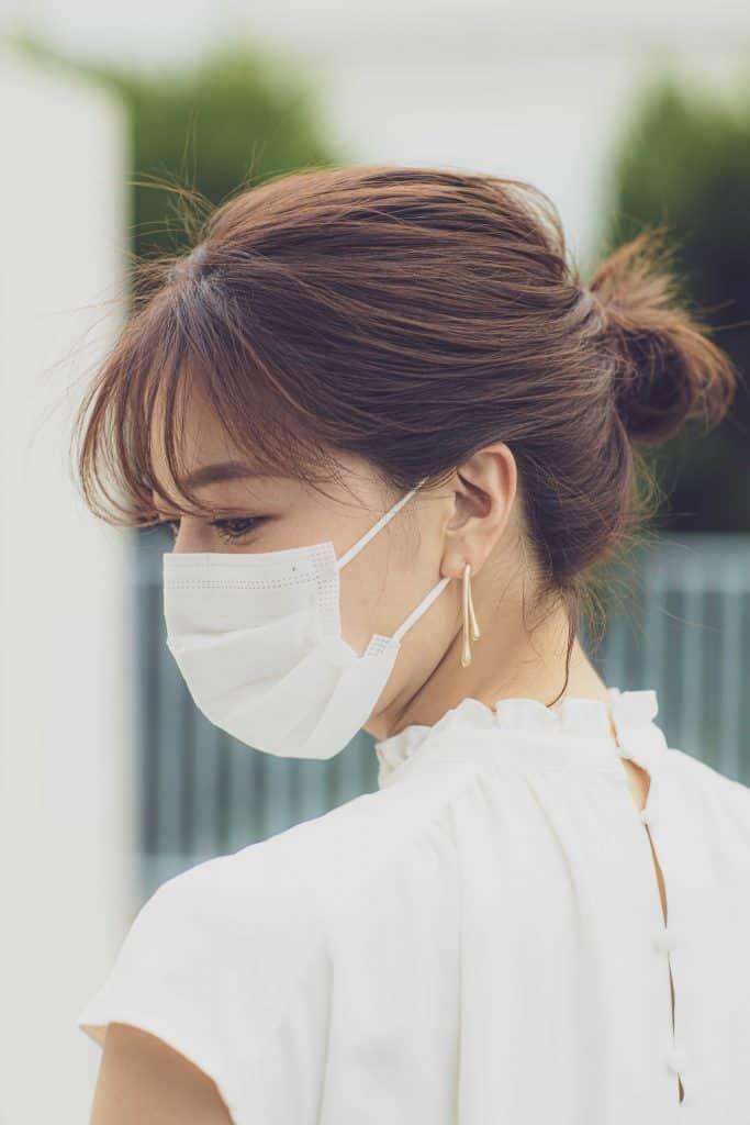 マスクをしている日の髪型がダサい問題を解決!【❹ゆるシニヨン編】
