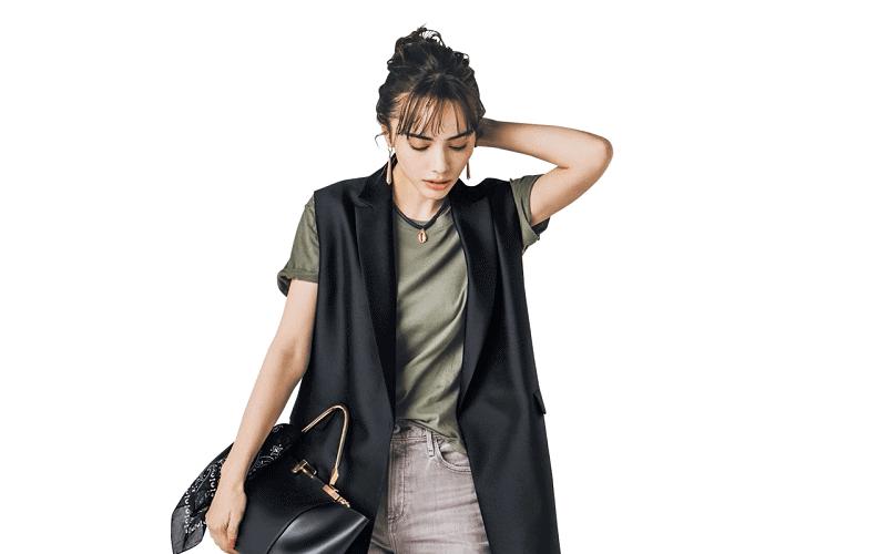 【今日の服装】初心者でも簡単な「ニュアンスカラー」の着こなしとは?【アラサー女子】