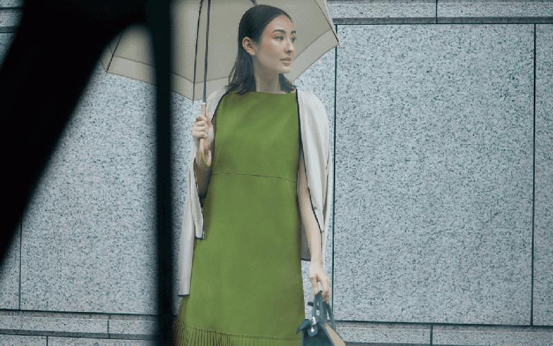 【今日の服装】まだ間に合う!梅雨に備えて買いたいワンピって?【アラサー女子】