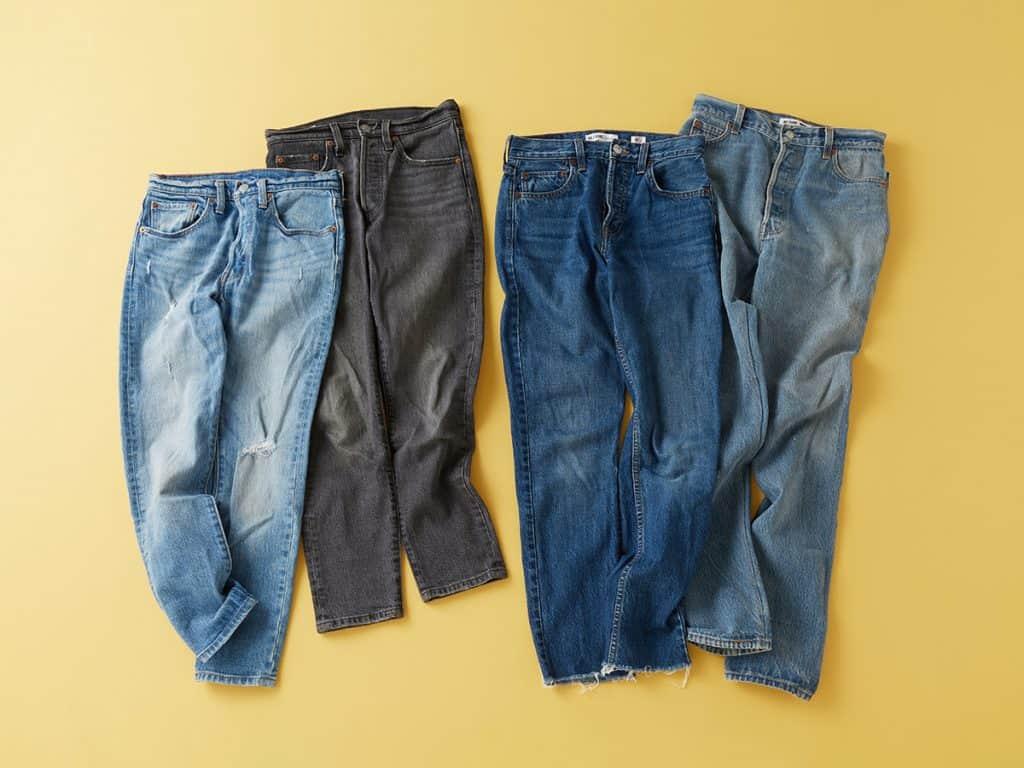 「デニムは大好きで色々履いてい