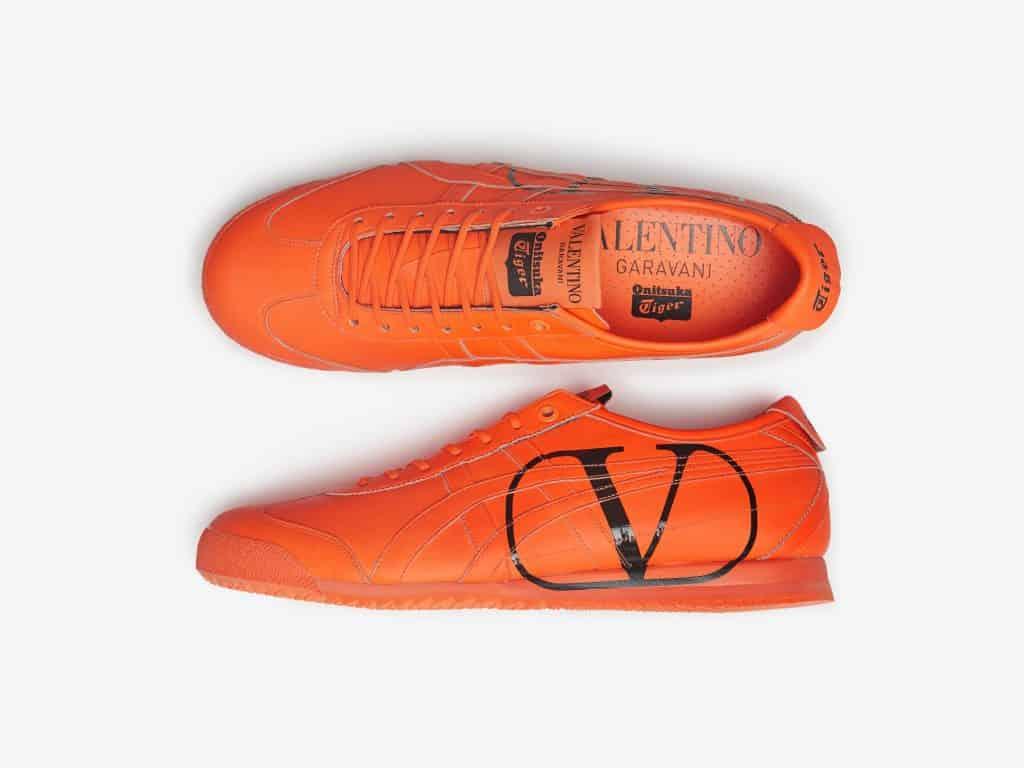 今回、ヴァレンティノとオニツカ