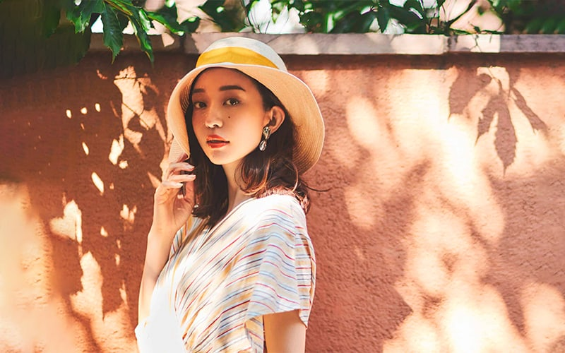 夏の日差しに映える上品可愛いサマードレス【女らしさで勝負したい日、頼りになるのはCELFORD】