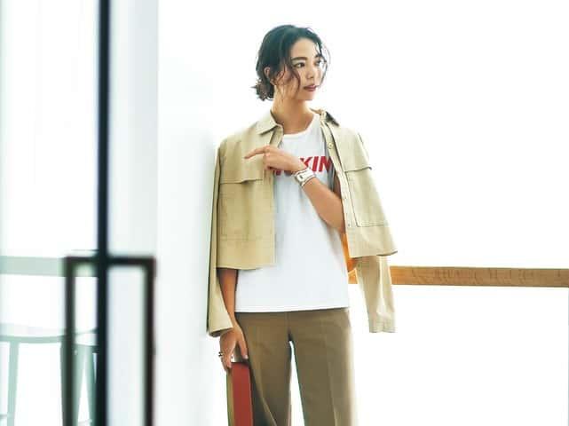 キレイめパンツをカジュアルに着るだけでオシャレ!の巻【コーデ実例つき】