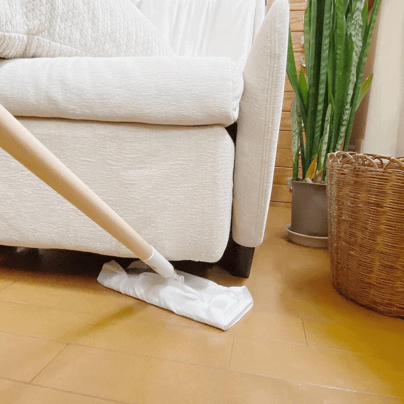 床掃除には、インテリアにもマッ