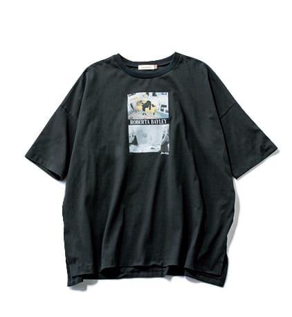 アラサー女子の「フォトTシャツ」着回しカジュアルコーデ7選