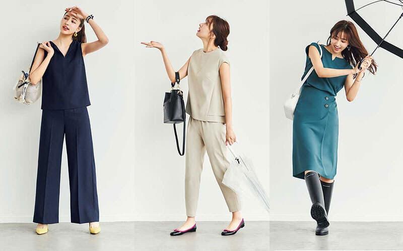 通勤服を究極にミニマムに減らしてみた❷「洗えてすぐ乾く服を選んでおく」