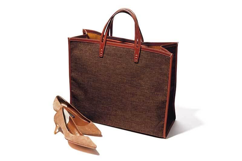 通勤服を究極にミニマムに減らしてみた❹「靴&バッグを固定して3つ着回す」