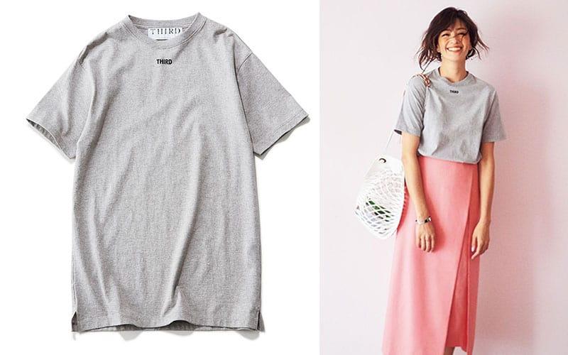 超人気ブランドは着回し力も抜群!「Tシャツ着回しコーデ3選」