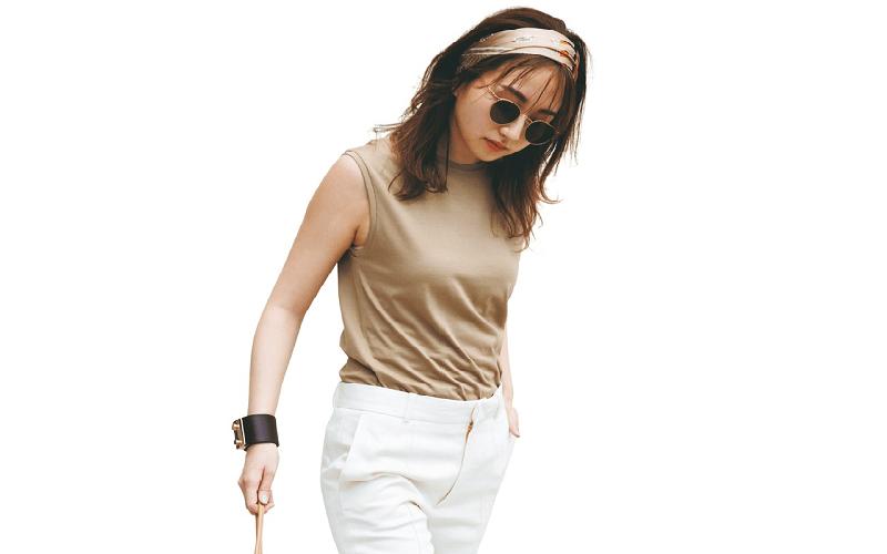 【今日の服装】「キレイめパンツ」をカジュアルに着こなすには?【アラサー女子】