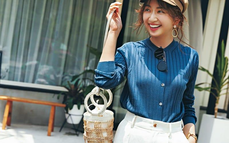 「会社用のキレイめ服」を休日も着回すアイディア5選【カーディガン編】