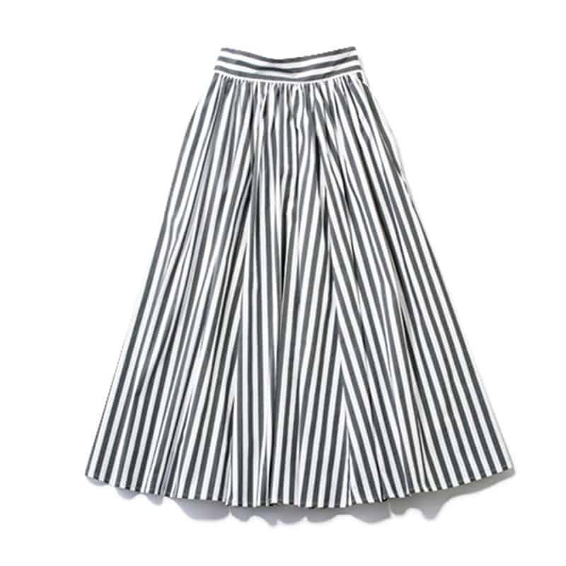【I】ストライプスカート 今年