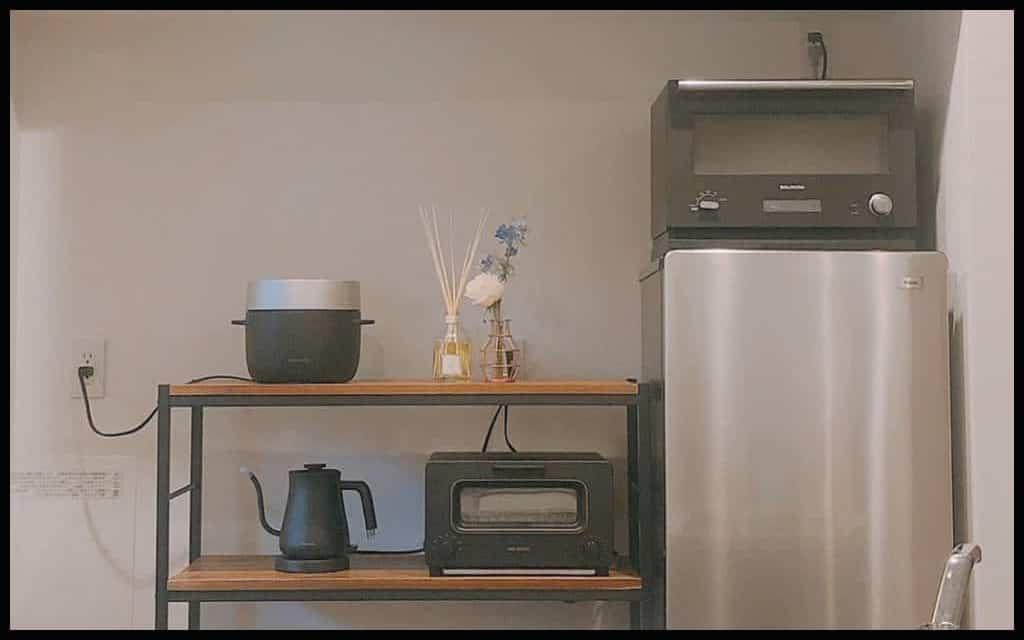 バルミューダの映え家電で作るオシャレキッチン