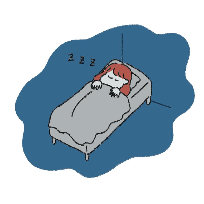 疲れている時ぐっすり眠りたい人のための安眠ポイント6選【力尽き美容】