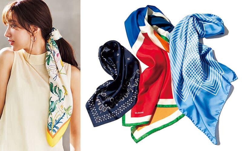 通勤服を究極にミニマムに減らしてみた❺「毎日違うスカーフを巻くだけ」