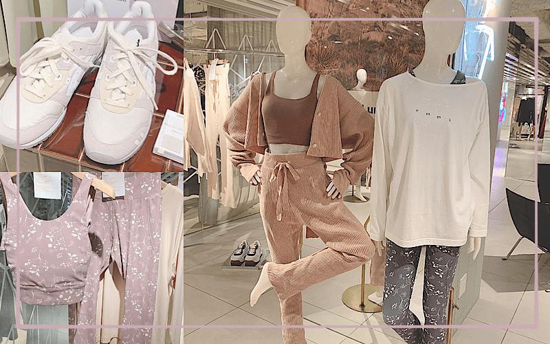 【展示会速報】emmiの秋冬新作は「大人ピンク」が可愛い!|レギンス、スニーカー他