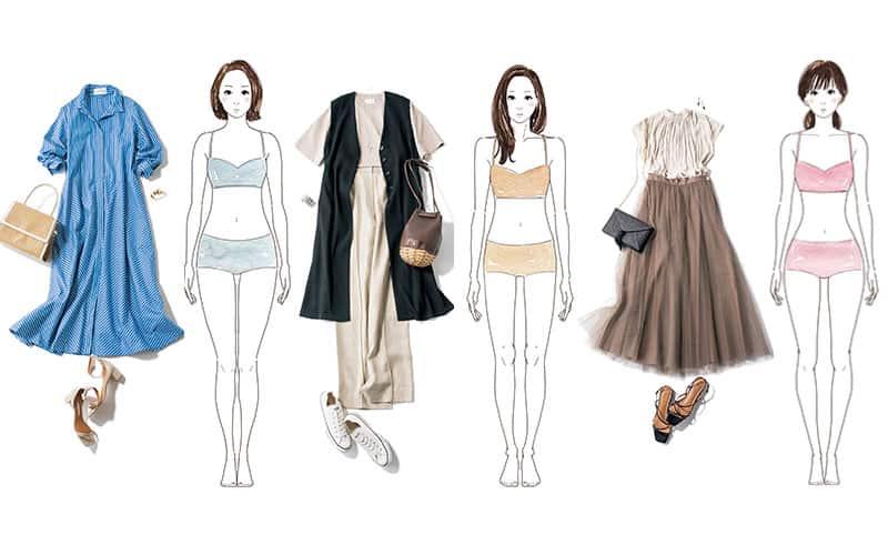 【体型別】アラサーの似合う「夏の定番服」代表例3タイプ